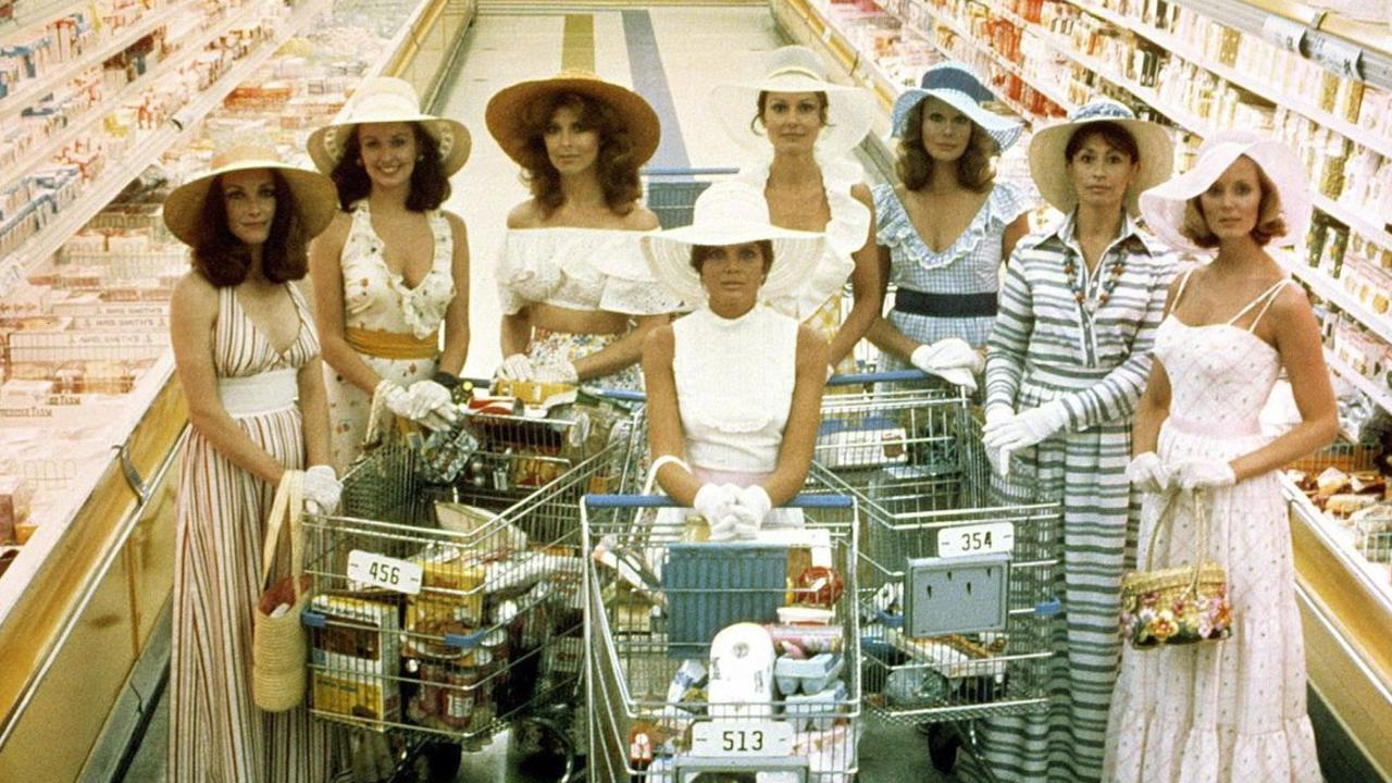 The 1975 film The Stepford Wives gave a creepy insight into subservience. Picture: Supplied