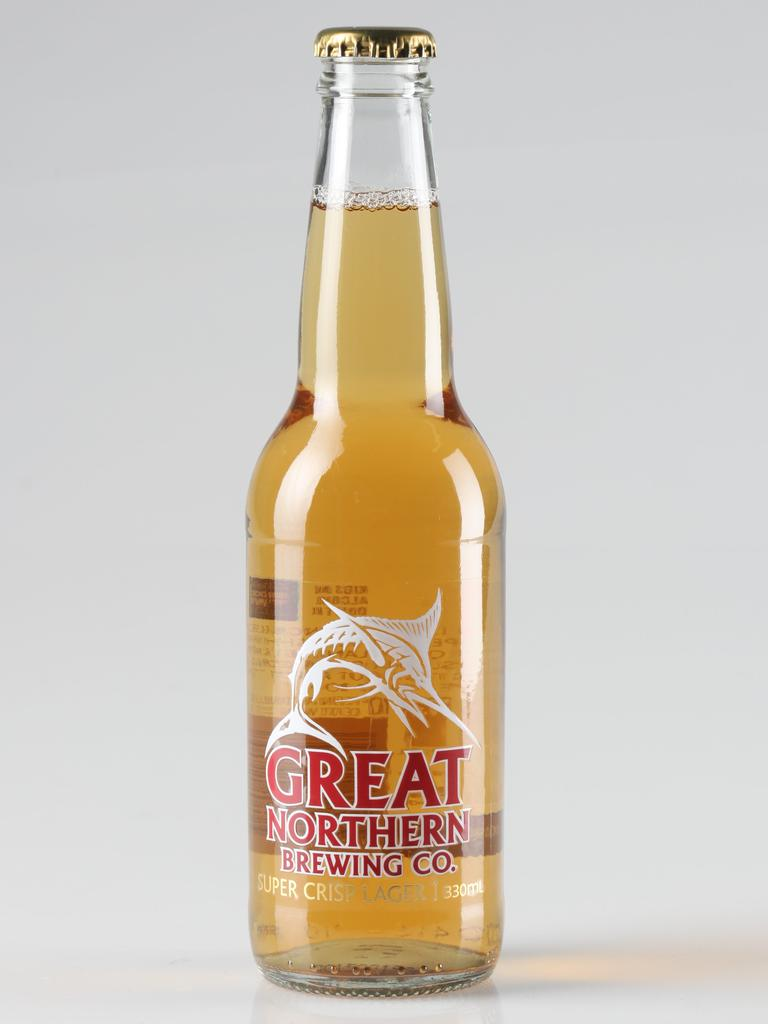The Great Northern Brewing Beer. Picture: Supplied