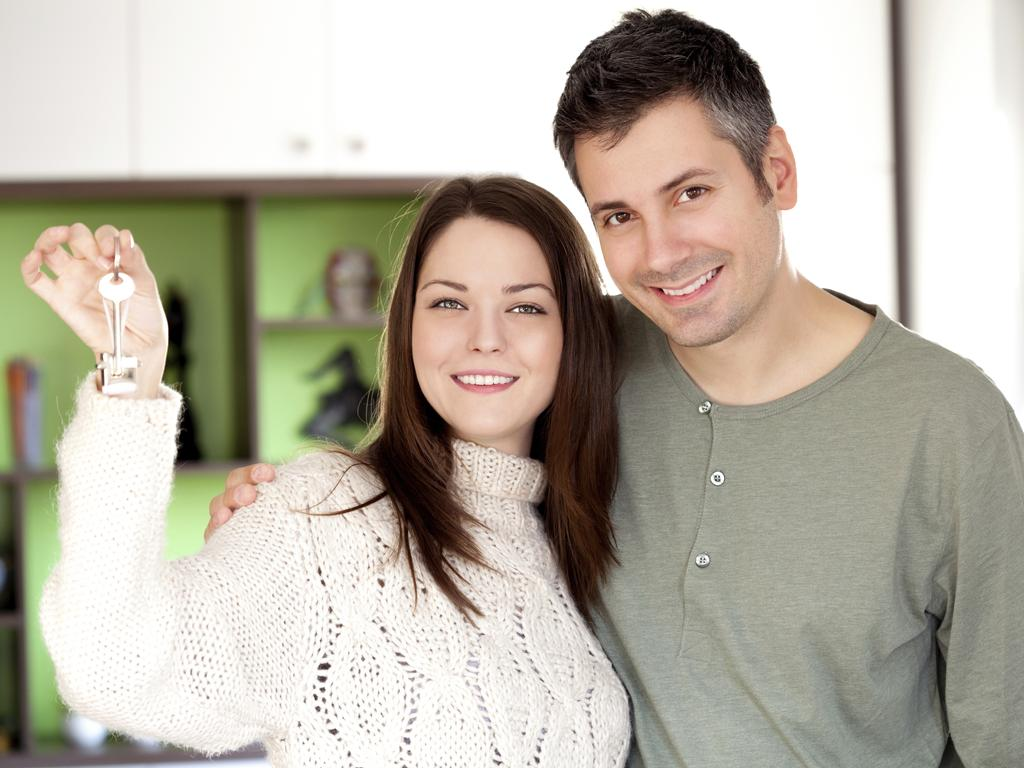 First-home buyers have flocked to the property market and signed up a decade-high number of new loans. Picture: Thinkstock