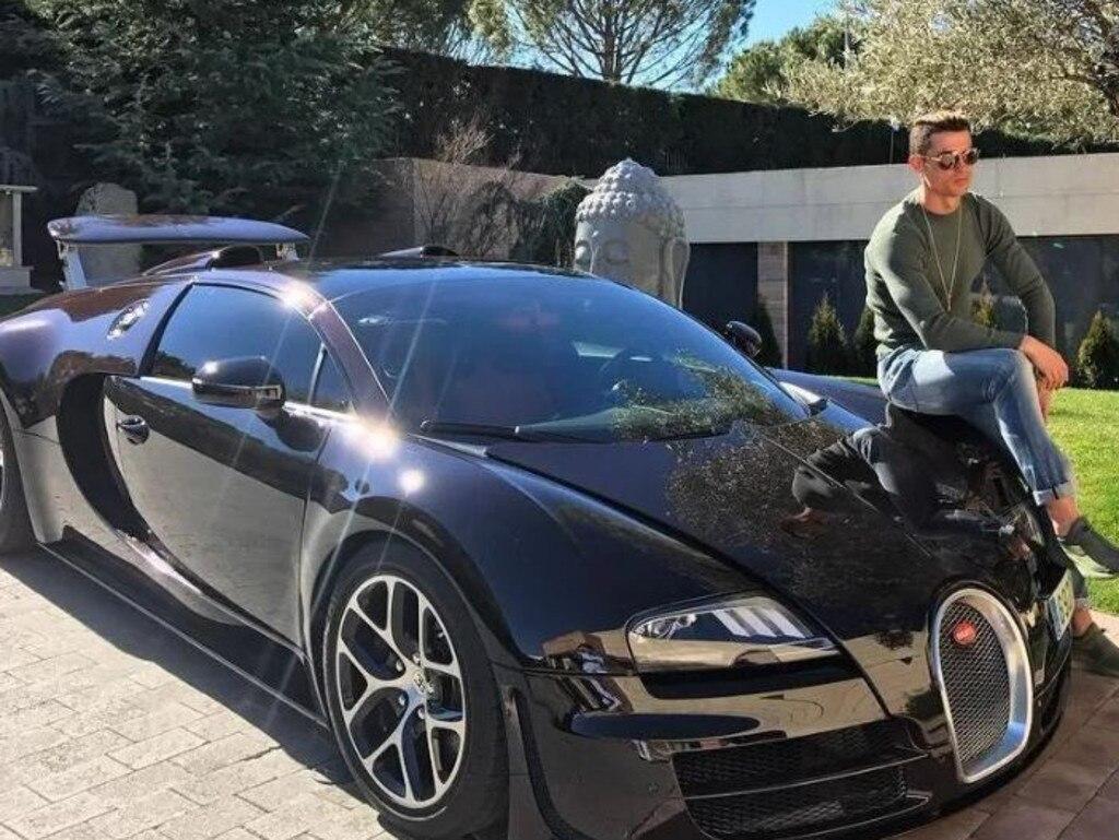 Cristiano Ronaldo's Bugatti Veyron