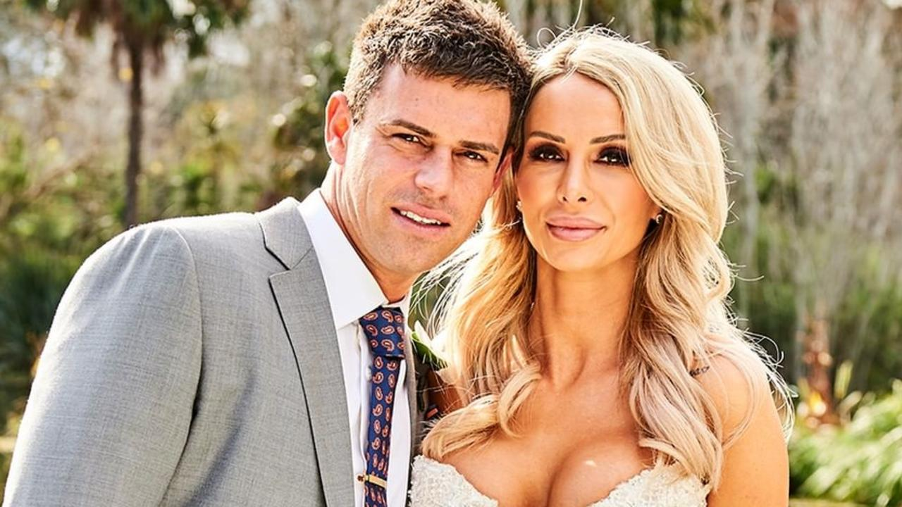 Stacey Hampton is one of the brides on MAFS.