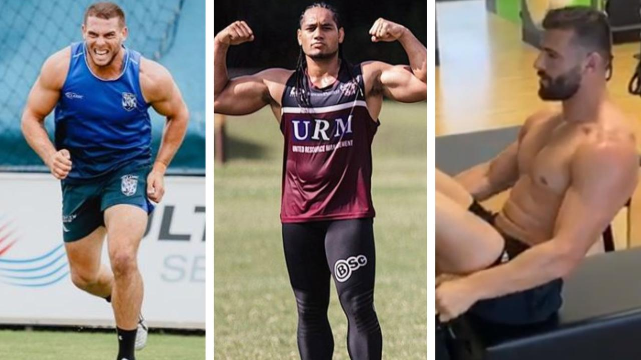 Adam Elliott, Marty Taupau, and Josh Mansour are some of the NRL's strongest men.