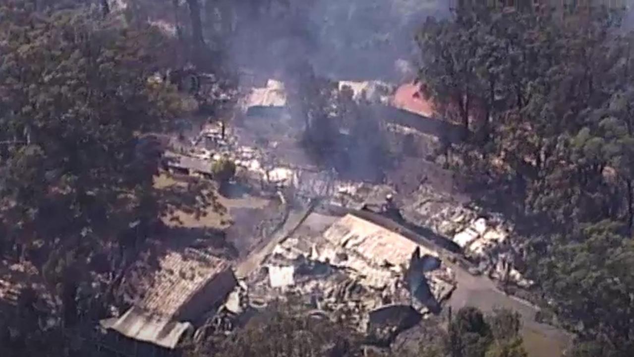 Bushfires devastated Binna Burra Mountain Lodge.