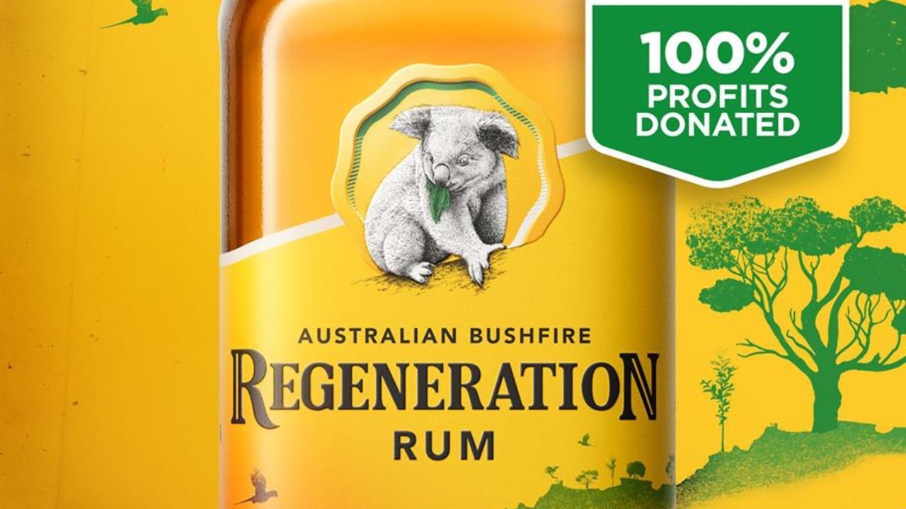 HELPING HAND: Bundaberg Rum's limited-edition Bundaberg Australian Bushfires Regeneration Rum