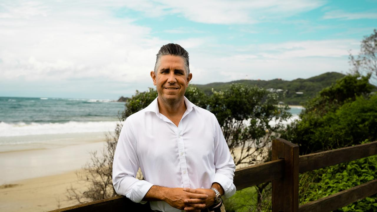 Moelis Australia Hotel Management CEO Dan Brady pictured at the Beach Hotel in Byron Bay.