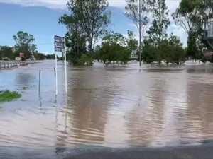 Jandowae floodwaters peak