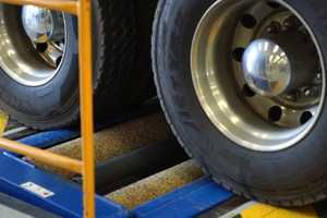 The NTI is warning truckies to make sure their ensure tyres are correctly inflated.