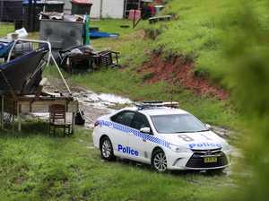 Cudgera Ck Kanes Rd crime scene