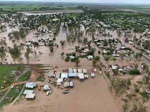 WATCH: Jandowae flood peaks above 2011 level
