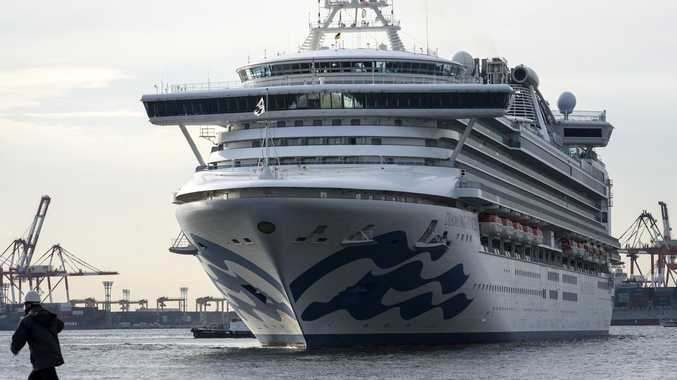 Couple in cruise ship quarantine over Coronavirus outbreak