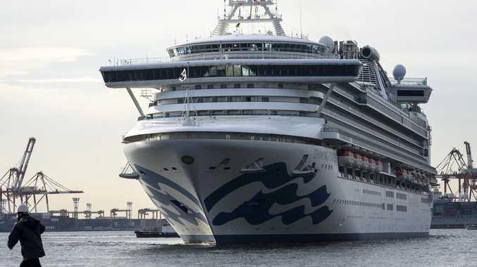 Couple in cruise ship quarantine over Coronavirus outbreak