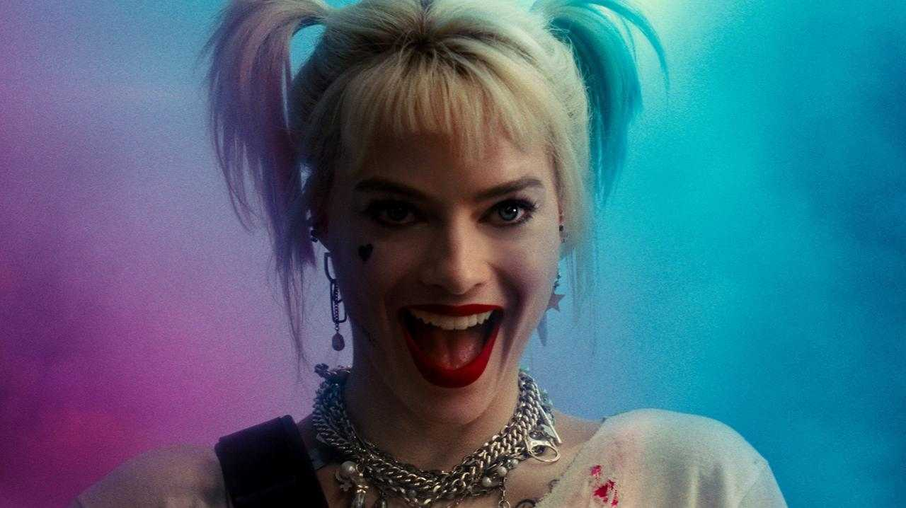 Margot Robbie in Birds of Prey.