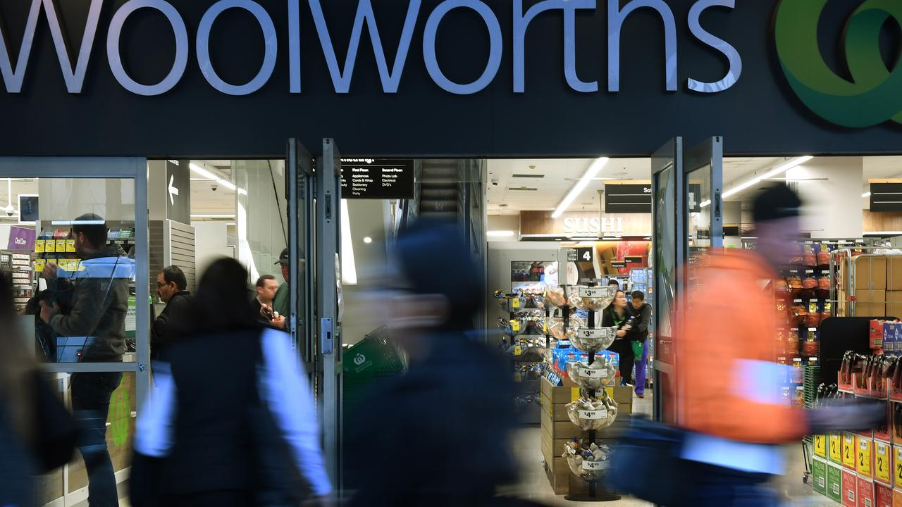 Woolies could ramp up its war on plastic if a trial at its New Zealand division is successful. Picture: Dean Lewins/AAP