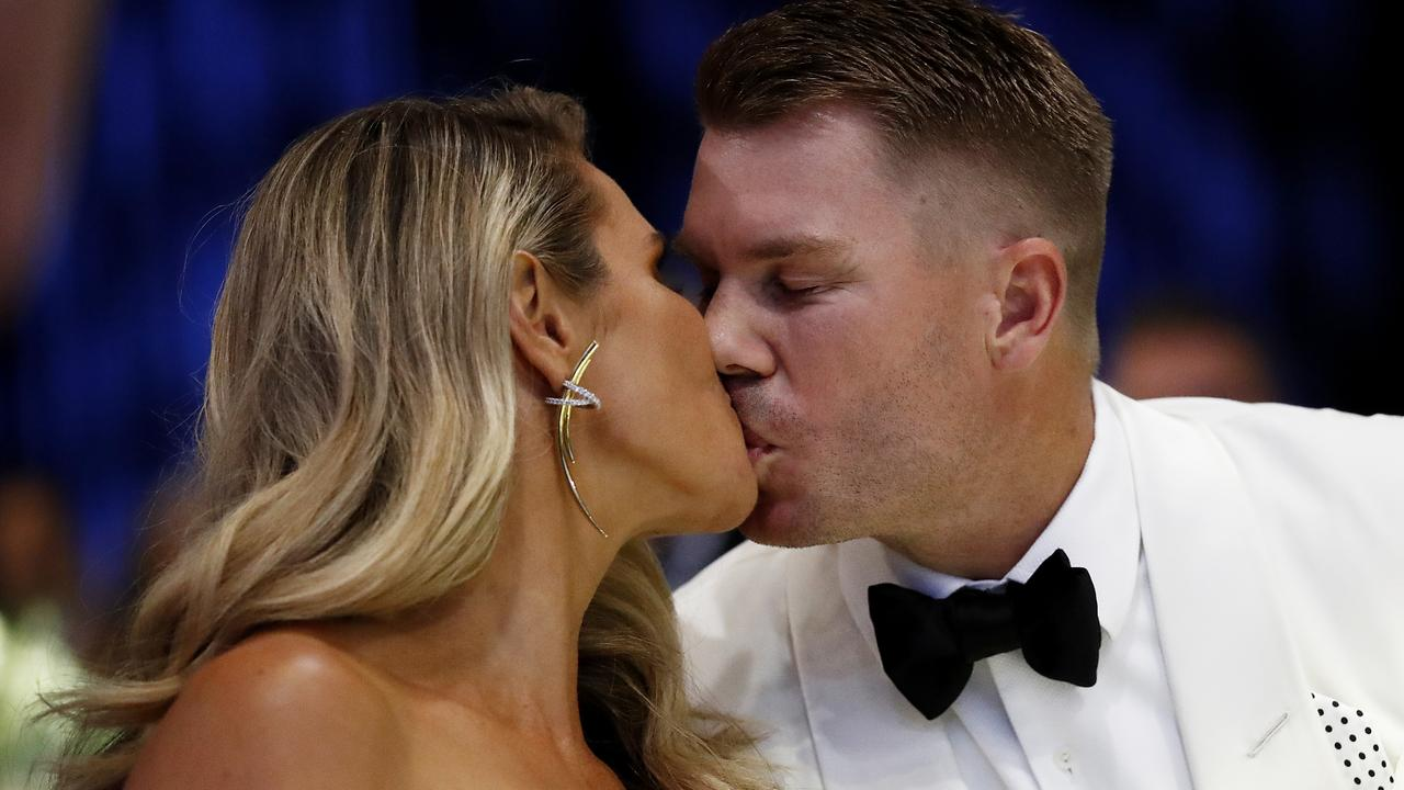 David Warner certainly didn't expect to win a major award after his shocking Ashes series.