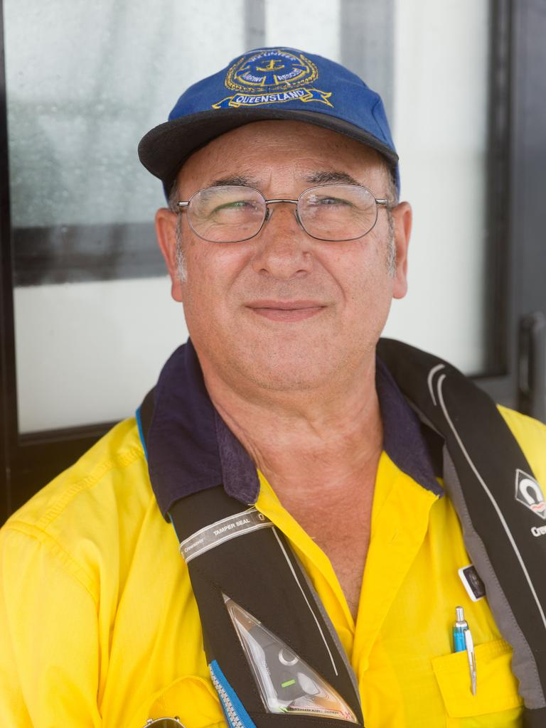 Emanuel Darmanin has been involved with Volunteer Marine Rescue Mackay for more than 10 years. Picture: Emma Murray.