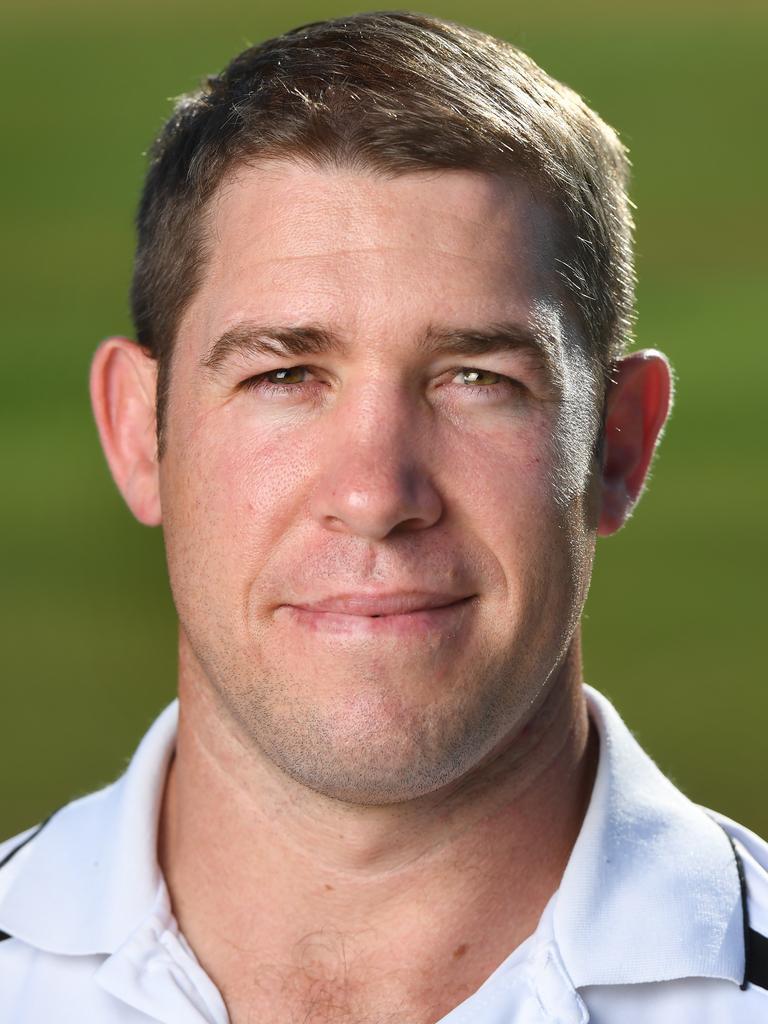 New Ipswich Jets coach Keiron Lander.