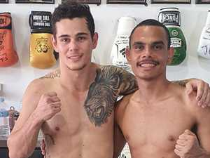 Cherbourg boxers show their fighting spirit
