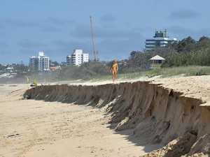 Calls to let nature take its course on popular beach