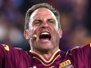 Maroons legend's terrifying shark scare