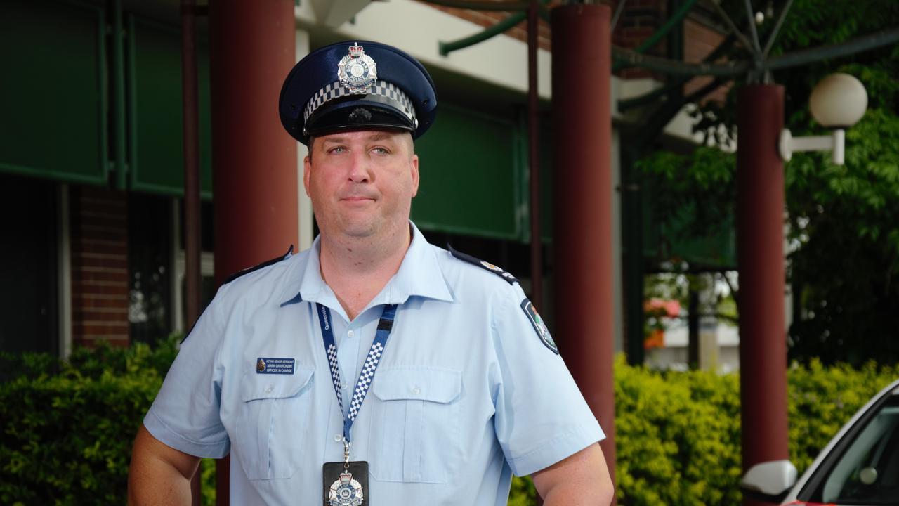 Mark Gawronski, Acting Senior Sergeant and Officer in charge of Bundaberg police.