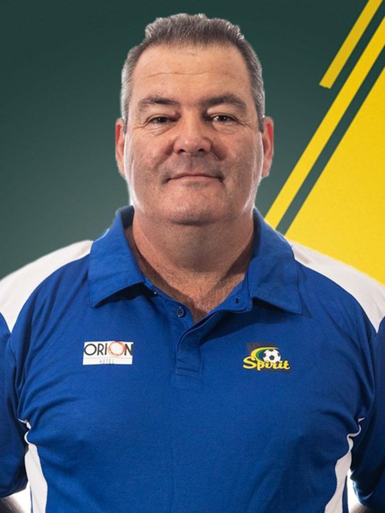 Western Spirit head coach David Coles