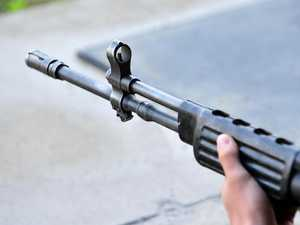 Why man had a Semi-auto rifle in car