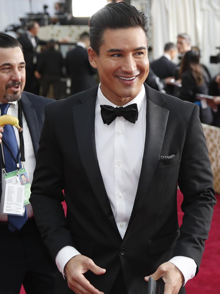 Mario Lopez. Picture: John Locher/AP