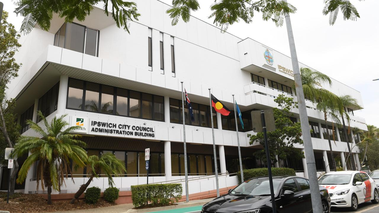 The Ipswich City Council administration building.
