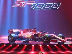 Dramatic unveiling of 'extreme' Ferrari