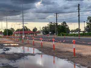 Rain pushes back Warrego Hwy roadworks