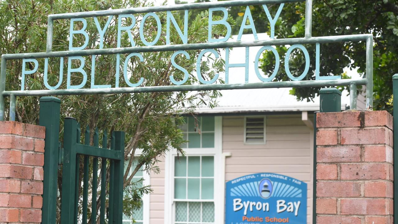 A woman who is alleged to have stabbed a Byron Bay Public School teacher has had her matter adjourned.