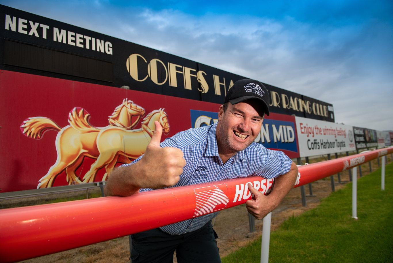 Coffs Harbour Racing Club chief executive officer Tim Saladine.