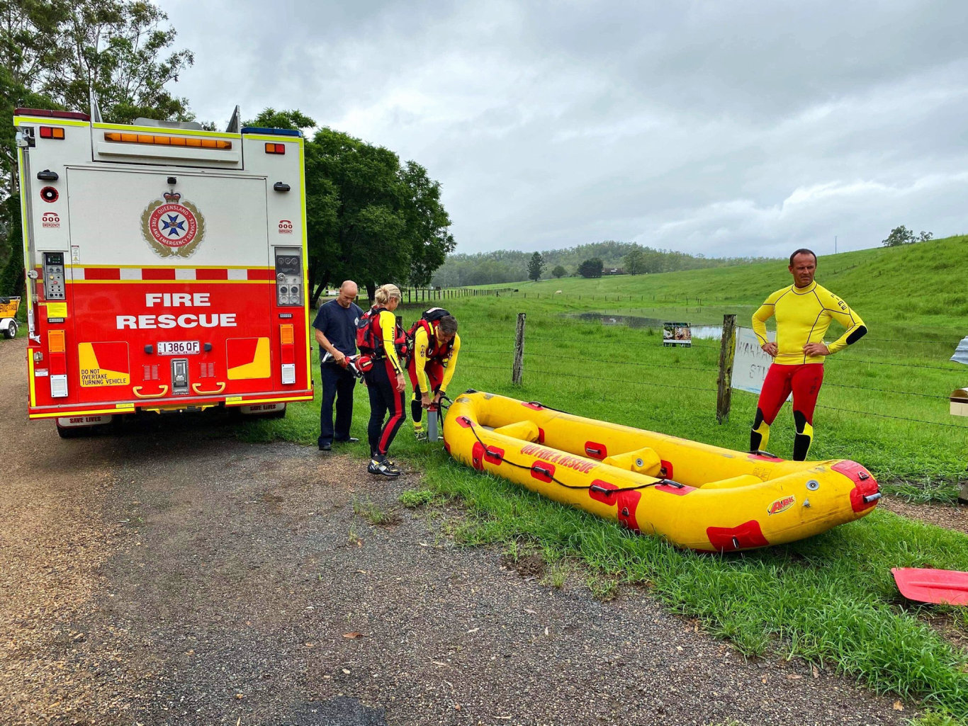 The man is believed to have gone kayaking on Sunday and hasn't been seen since. Photo: ABC