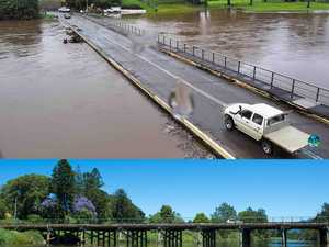 Bellinger River flood in Bellingen