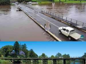 Bellinger River flood in Bellingen
