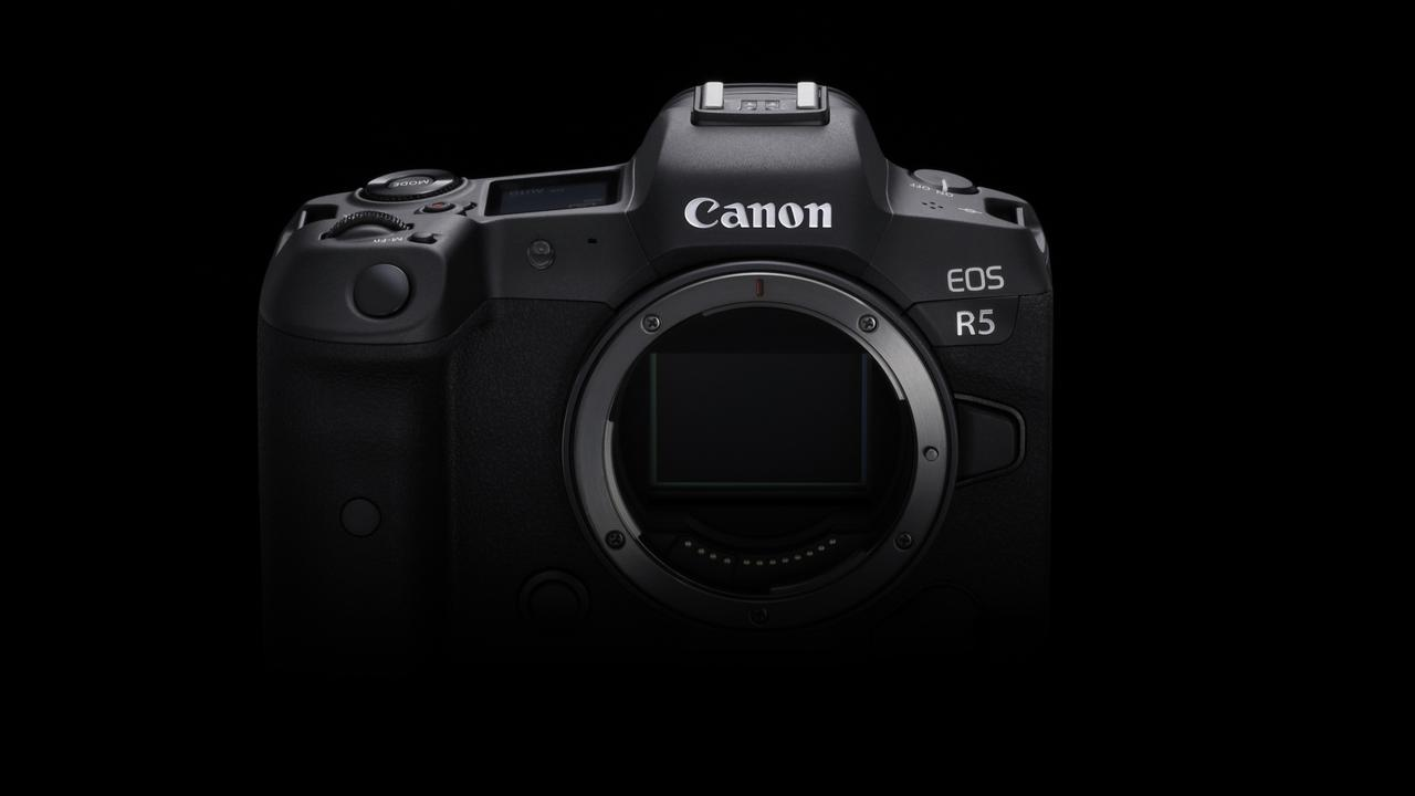 Canon's EOS R5 camera. Picture: Supplied