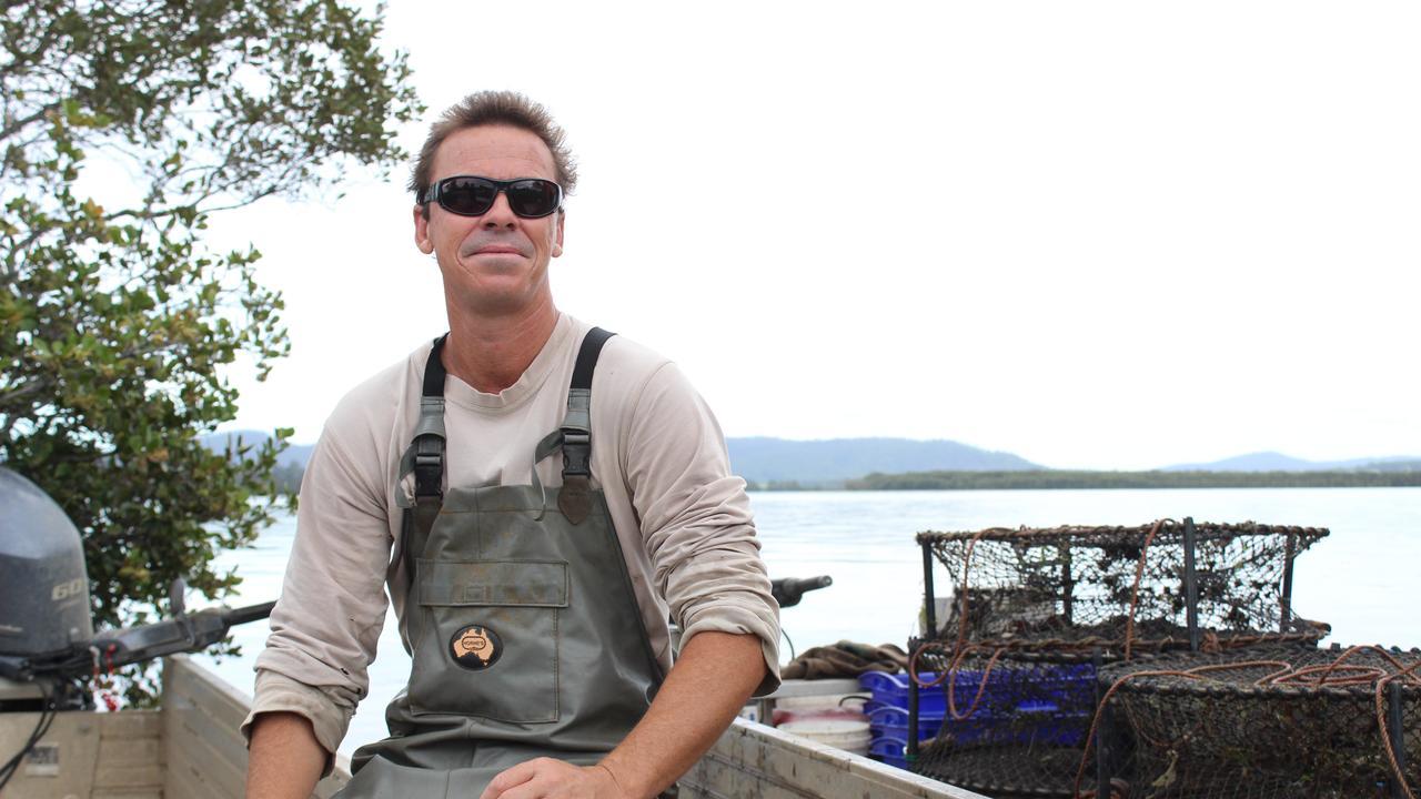Clarence River crab fisherman Troy Billin.