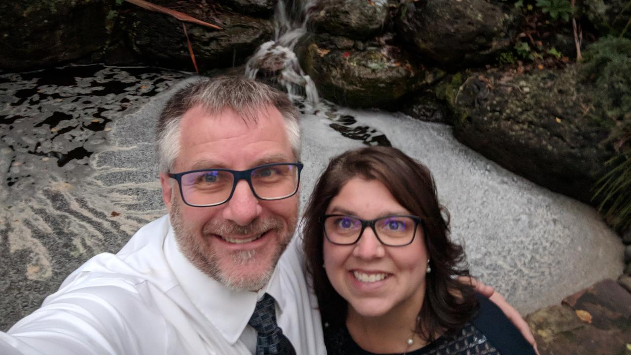 LIFELONG LOVE: Pastor Andy Dunkin with his wife of 25 years Victoria. (Photo: Contributed)