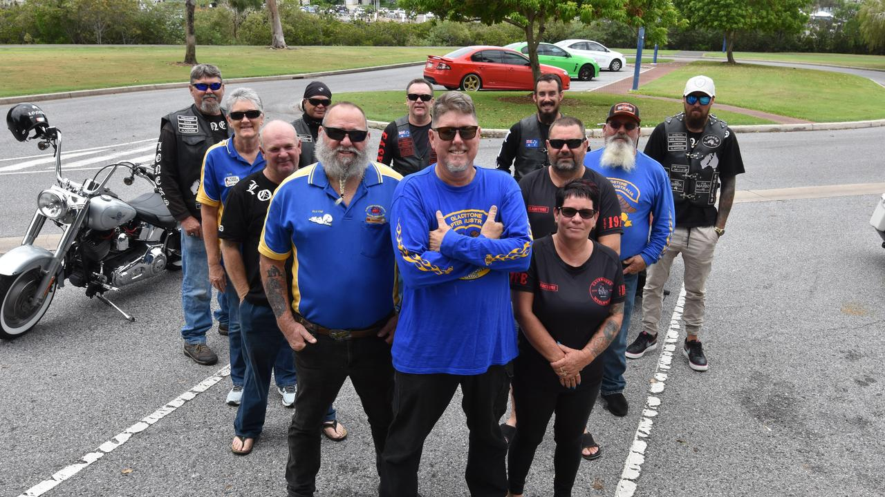 Members of Gladstone's motorcycle clubs unite ahead of the charity ride to Lowmead to raise funds for the bushfire appeal