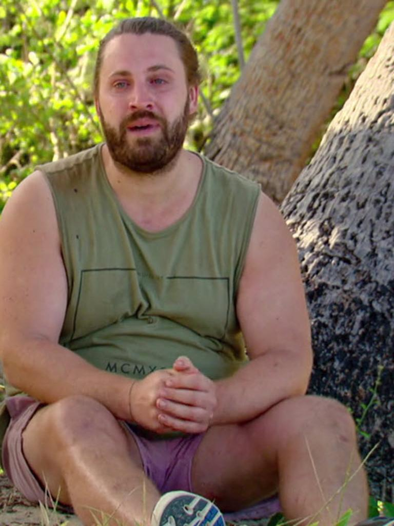 AK on Survivor.