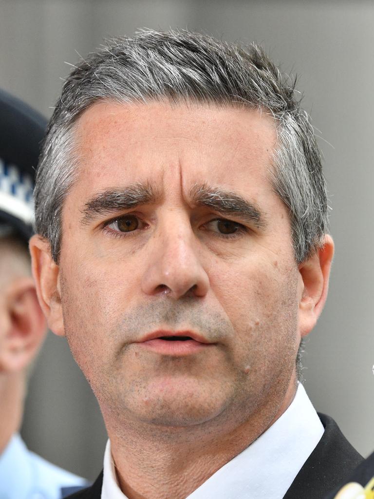 Former Homicide boss Scott Cook. Picture: Brendan Esposito