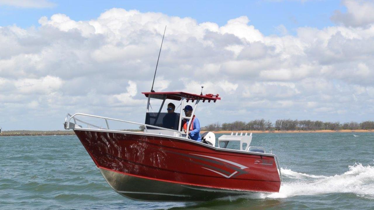 Seajay 630 Vision with 150hp Yamaha
