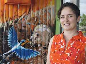 Building facelift inspired by wildlife, bushfires