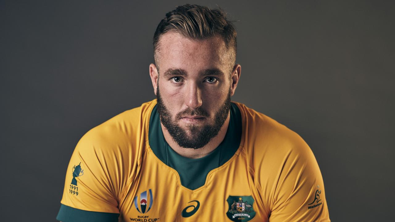 Izack Rodda has become a senior member of the Wallabies. Picture: Adam Pretty