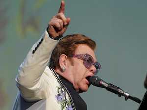 Blame it on the rain — not Elton John