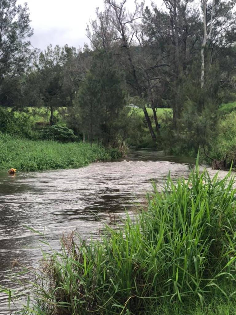 Flash flood Mary's Creek