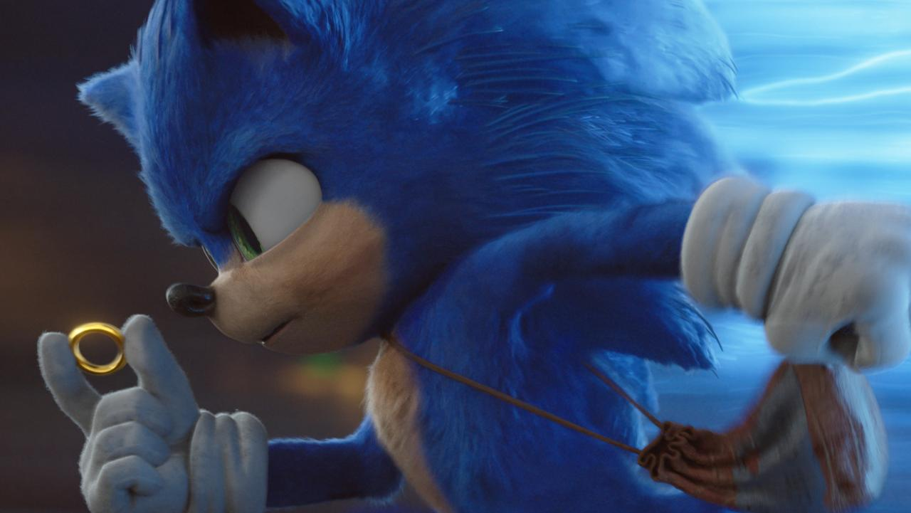 The redesigned Sonic The Hedgehog avoids the Uncanny Valley. Picture: Paramount Pictures/Sega of America via AP