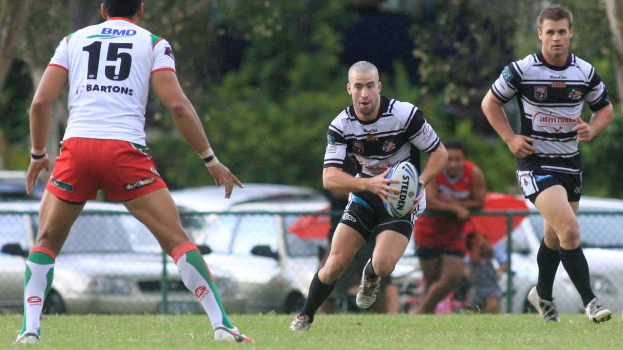 Tom Merritt playing for the Tweed Seagulls. He has rejoined Byron Bay in NRRRL this season. Photo: File