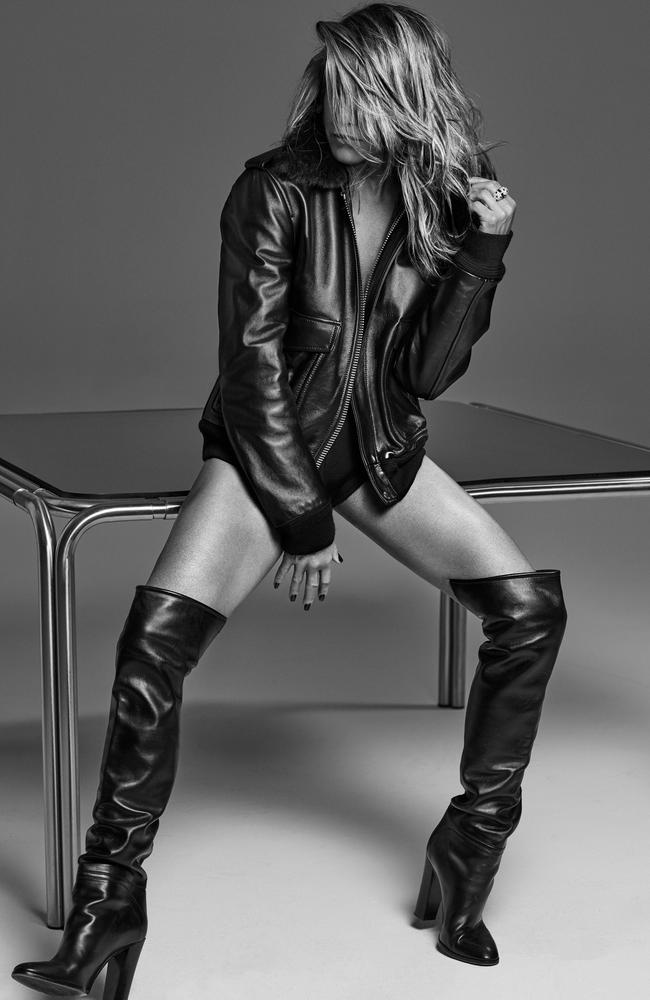Jennifer Aniston in a March 2020 Interview Magazine photo shoot. Picture: Alique for Interview Magazine