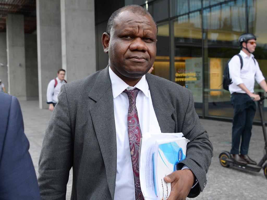 Tony Mufutau Oluwatoyn Bakare outside Brisbane District Court this week. Picture: Dan Peled/AAP